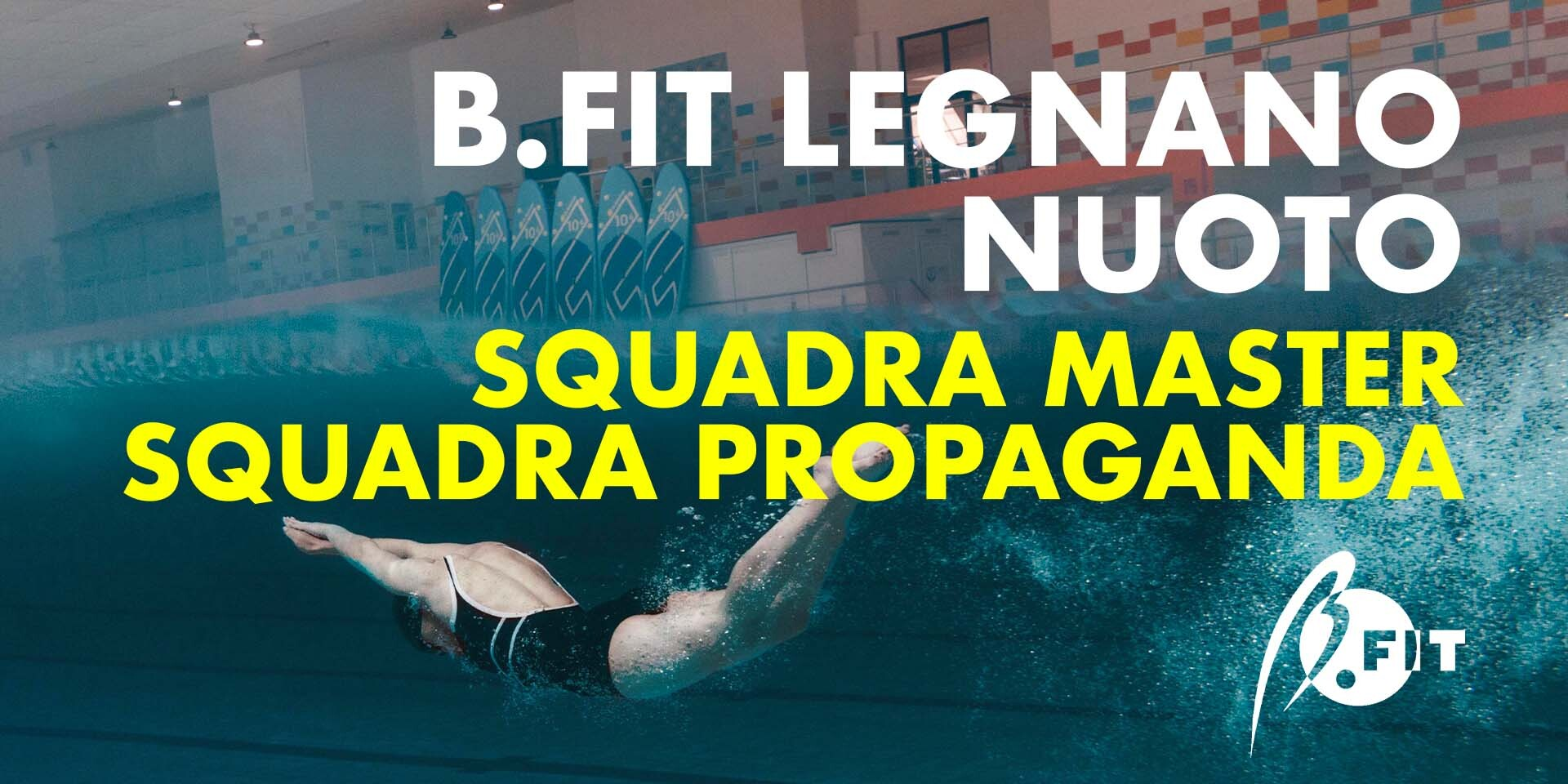 Banner b.fit scuola nuoto