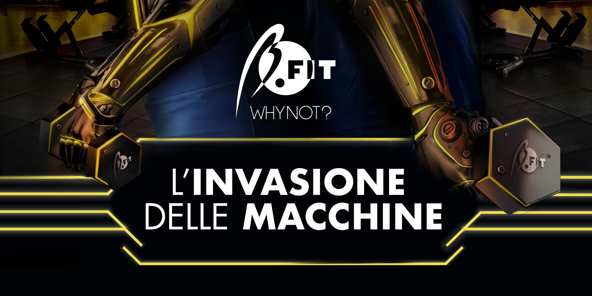 Banner l'invasione delle macchine in sala pesi