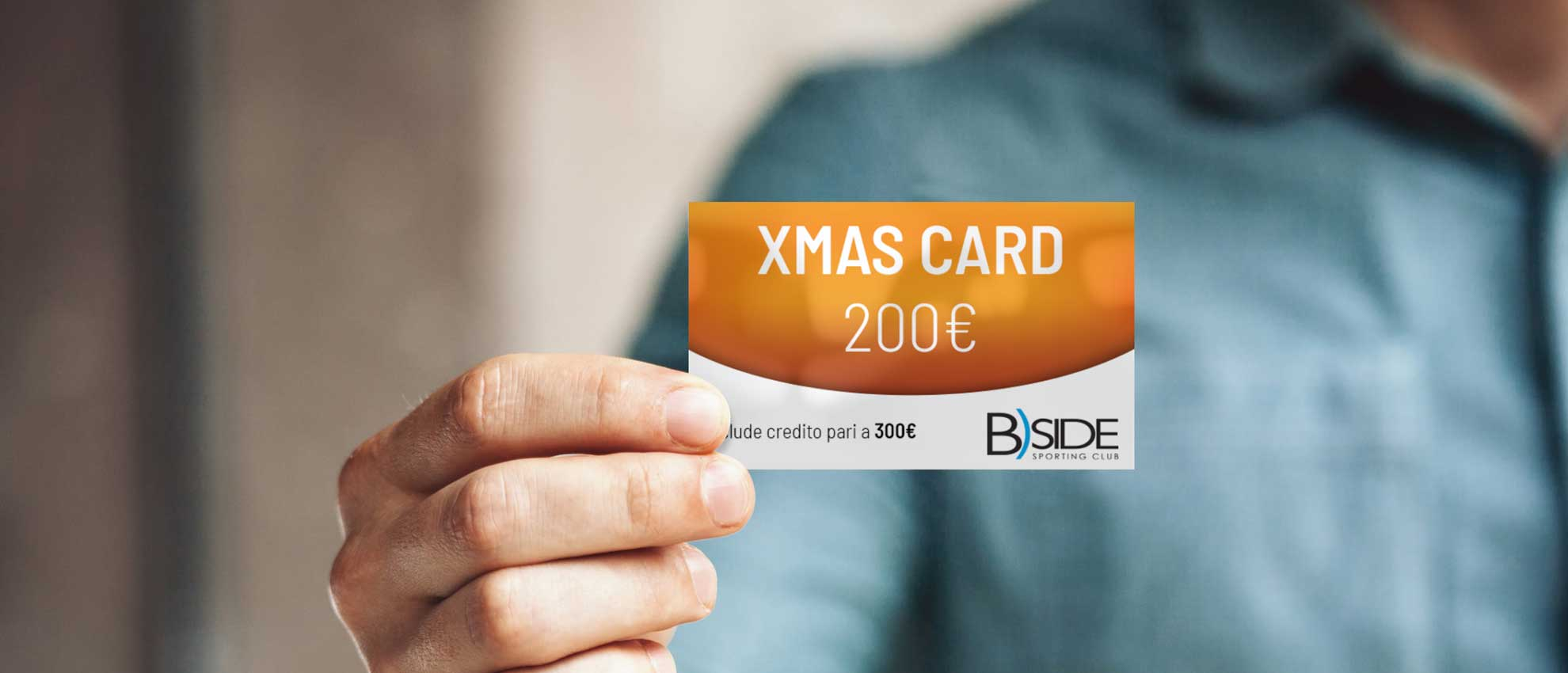 Banner gift card